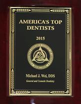 2015 Top Dentist Award