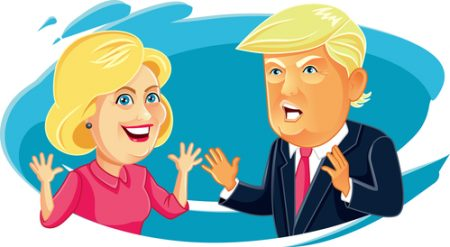 clinton-trump-presidential-smile