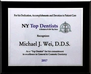 new york top dentist 2017 award