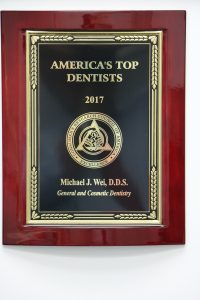 America's Top Dentist 2017 Wei