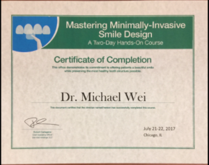 Minimally Invasive Smile Makeover