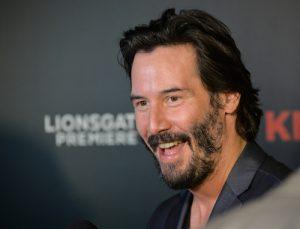 Keanu Reeves smile makeover Midtown cosmetic dentist