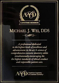 AACD Lifetime Member 2021